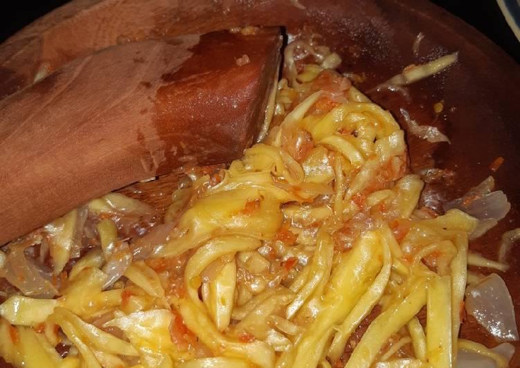 Resep mengolah Sambal mangga praktis istimewa