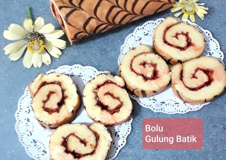 Bolu Gulung Batik