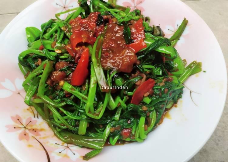 Resep: Kangkung tumis sambal belacan