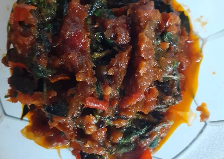 Resep: Sambel belacan(terasi)+kemangi enak
