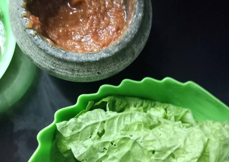 Resep memasak Sambal belacan mukah yang menggugah selera