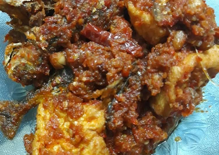 Resep: Sambalado belacan ikan tahu yang menggugah selera