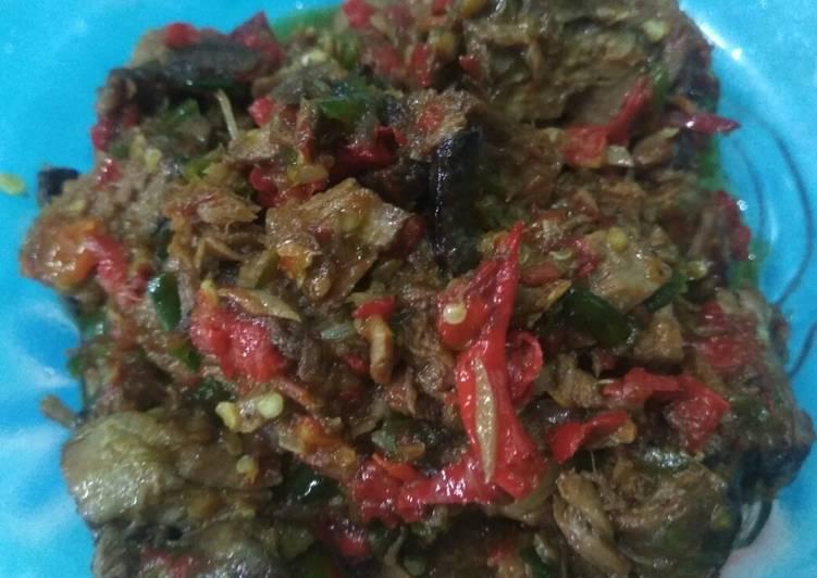 Suir tongkol sambal belacan medan