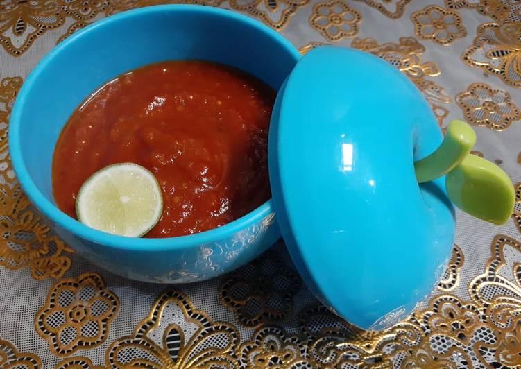 Resep: Sambal tomat terasi sedap