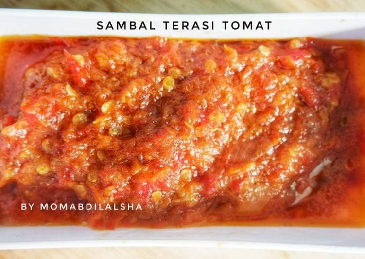 Sambal Terasi Tomat