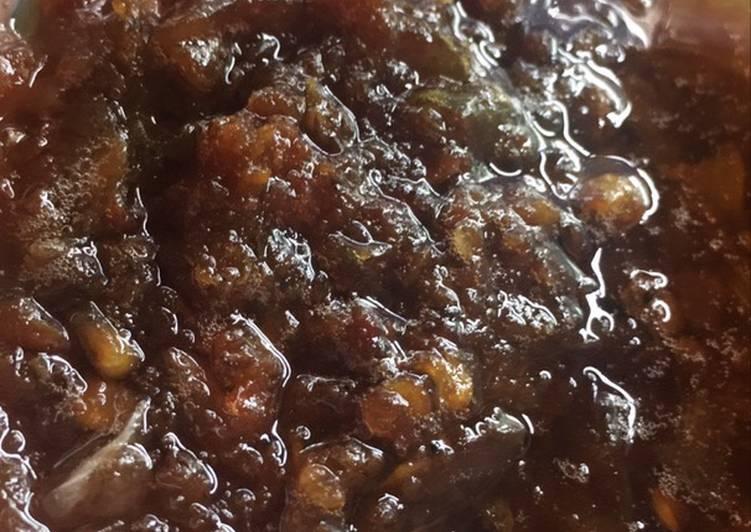 Resep: Sambal terasi goreng tahan lama enak