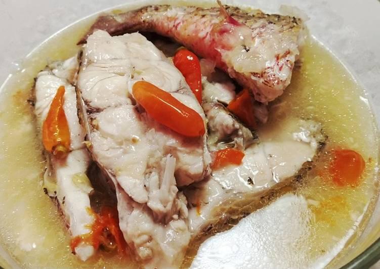 Sop Ikan Kakap Batam