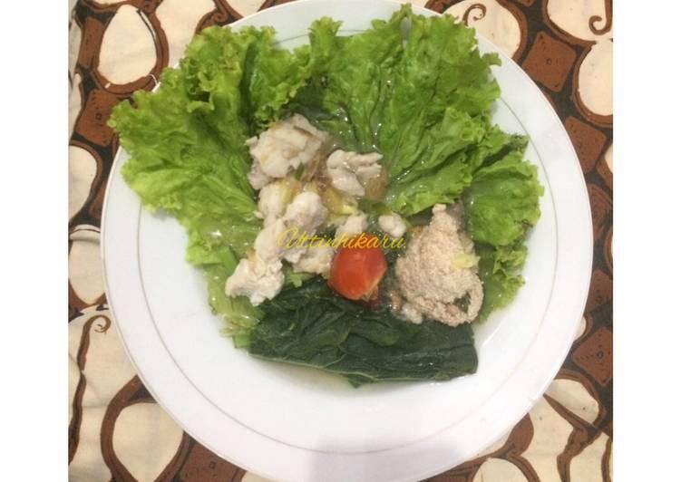 34. Sup Ikan Patin (modifikasi dari Sup Ikan Batam)