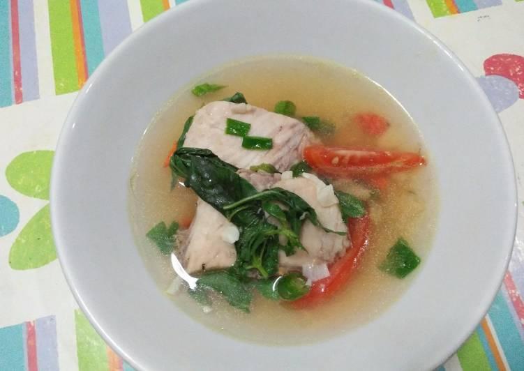 Resep: Sup Ikan Tenggiri (ala sop ikan Batam)