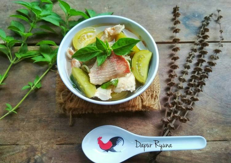 Resep: Sup Ikan Khas Batam yang menggugah selera