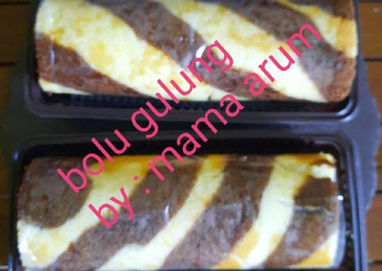Resep memasak Bolu gulung ala resto