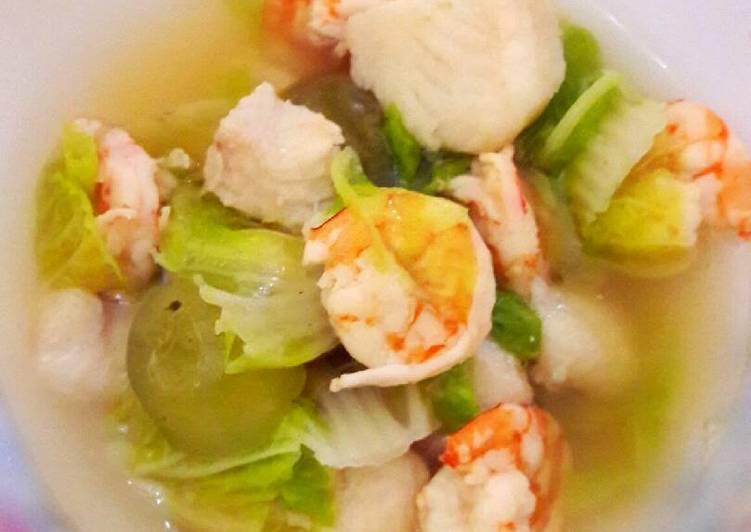 Resep mengolah Sop Ikan Batam by.V2 ala resto