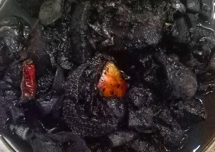 Resep: Sotong masak hitam