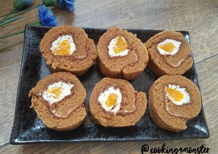 Resep: Japanese Roll cake alias Bolu gulung lezat
