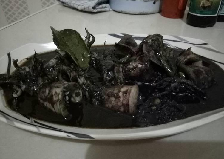 Sotong masak hitam nikmat