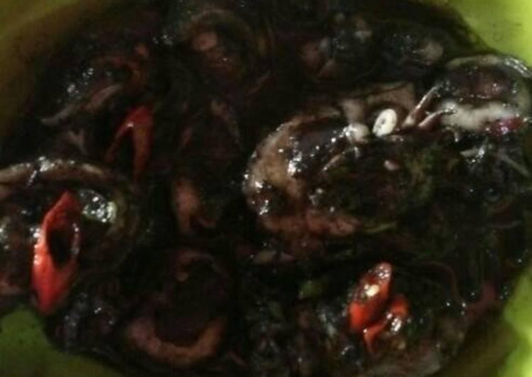 Resep: Sotong masak hitam sedap