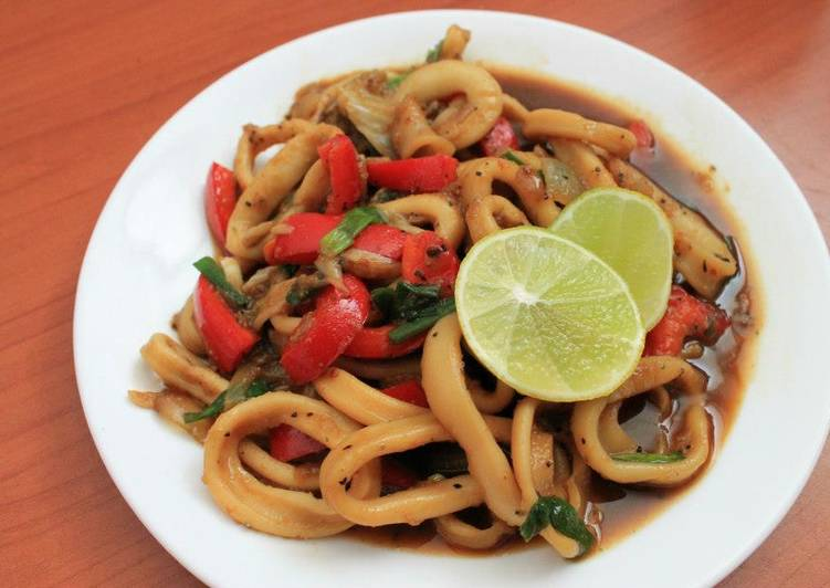 Sotong lada hitam (Calamary something)