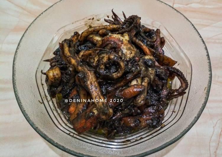 Resep memasak Resep Cumi-cumi Masak Hitam #cumimasaktinta istimewa