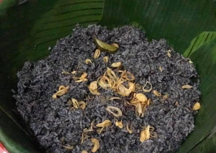 Resep: Nasi cumi hitam