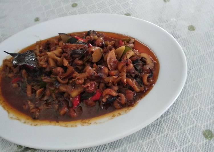 Cara Mudah membuat Seafood (Gonggong) pedas manis yang bikin ketagihan
