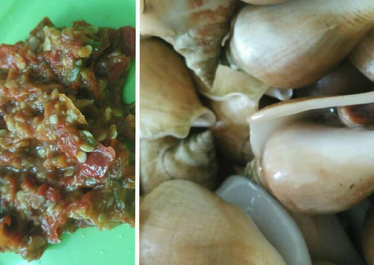 Resep: GongGong Rebus vs Sambal jeruk