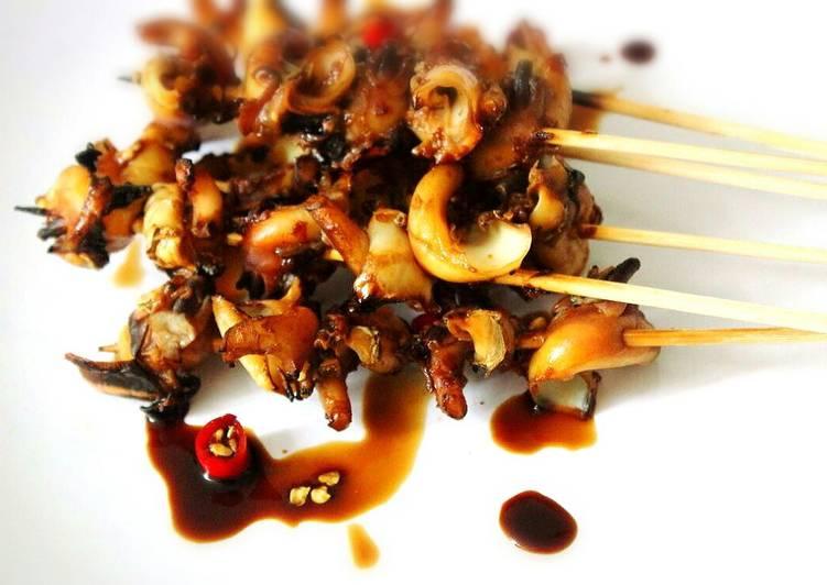 Cara memasak sate gonggong enak