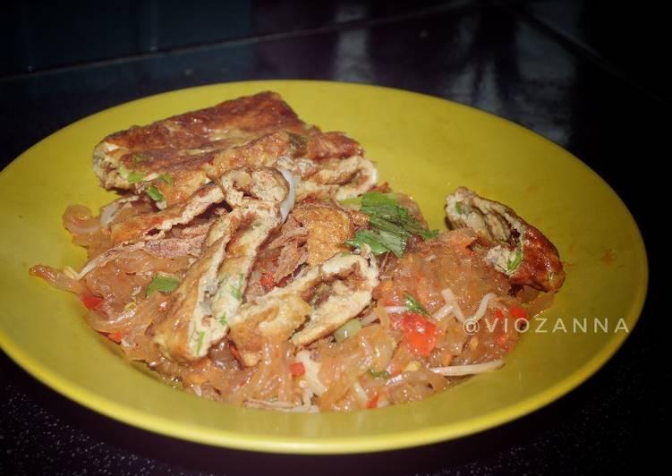 Resep: Mi Sagu Jamur Tiram ala resto