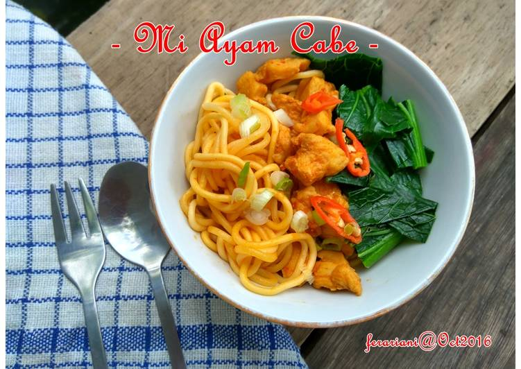 Mi Ayam Cabe (noodle maker)