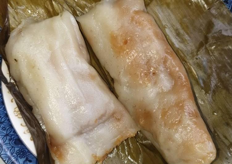 Resep membuat Cimpa karo atau kue bugis dalam bentuk lain lezat