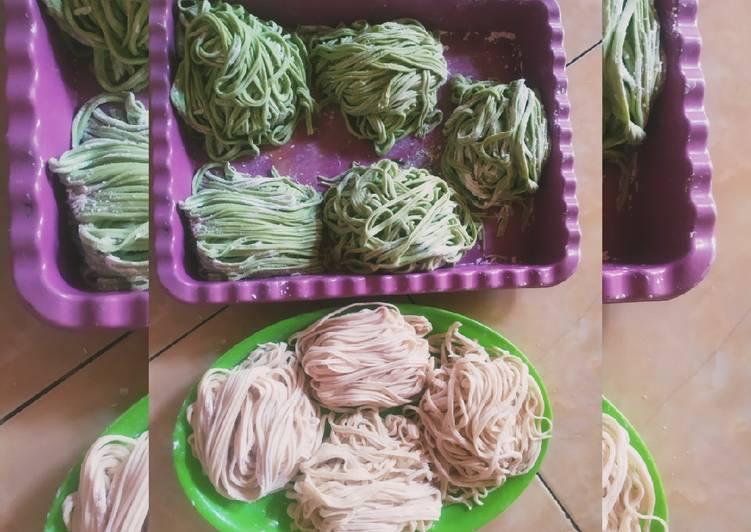 Resep: Mie Homade (sayur dan original) yang bikin ketagihan