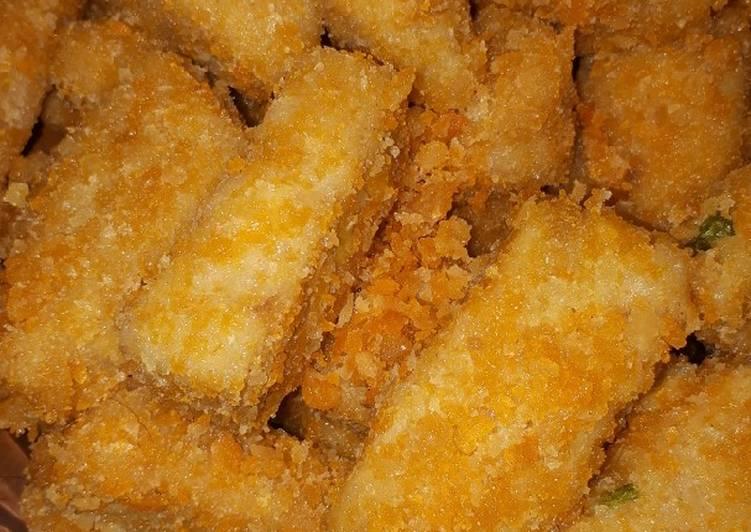 Resep membuat Nugget mie goreng yang menggugah selera