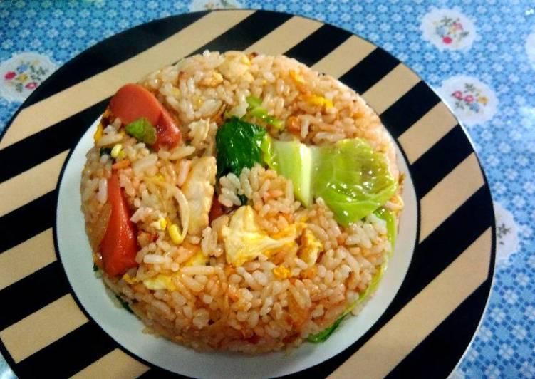 Resep: Nasi goreng mawut ala abang2 jualan yang menggugah selera