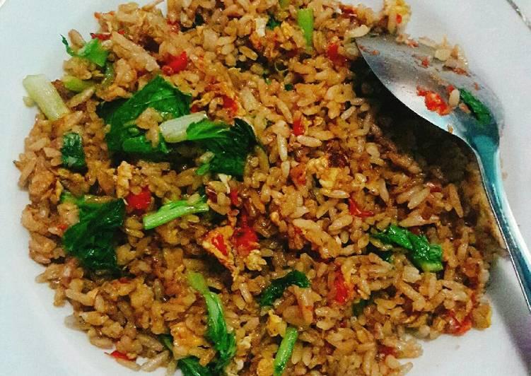 Resep memasak Nasi goreng ala abang yg jualan 😆 ala resto