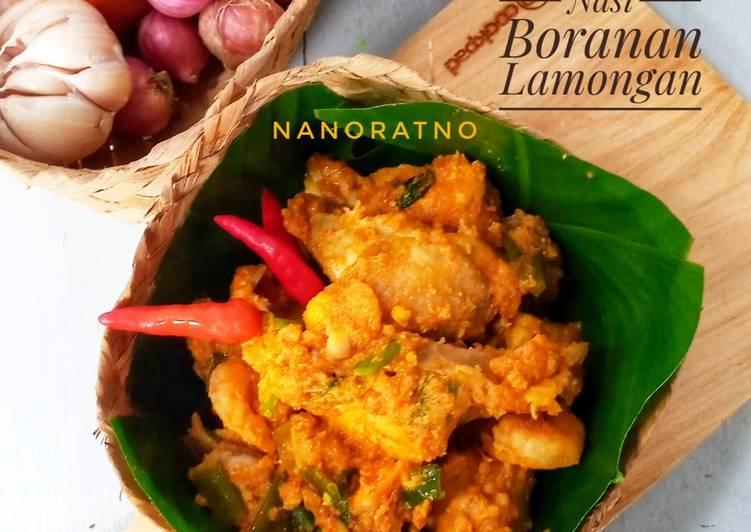 Resep memasak Ayam Bumbu Nasi Boranan Lamongan yang menggugah selera