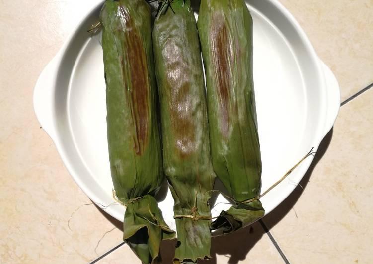Resep: Nasi Bakar Ayam Suwir Jamur yang menggugah selera