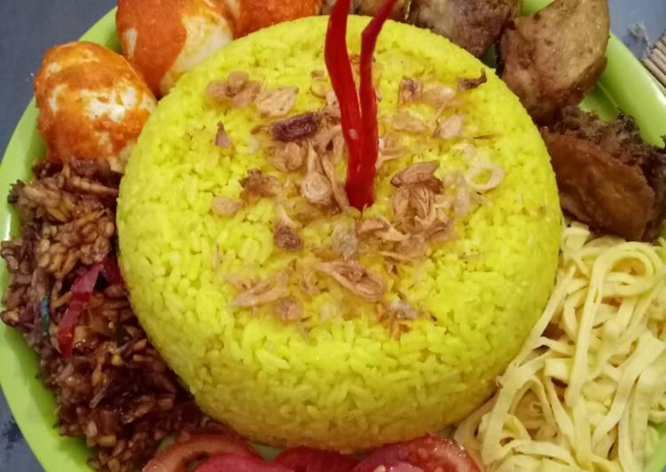 Resep: Nasi kuning magic com pulen