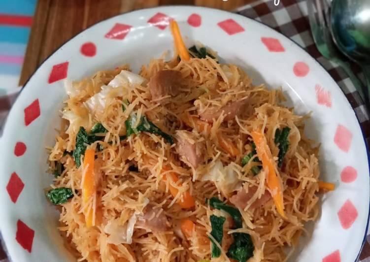 Resep: Bihun Goreng ala Ibu Penjual Nasi Uduk