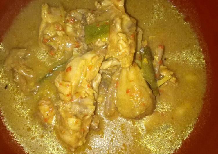 Cipera Ayam (Gulai Ayam Khas Tanah Karo)