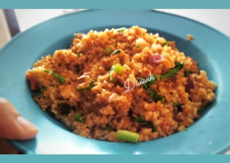Cara Mudah membuat Nasi Goreng ala Abang Nasgor yang bikin ketagihan