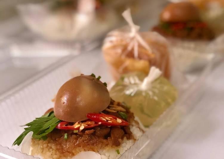 Resep memasak Nasi Tim Ayam Jamur Enak banget ala resto