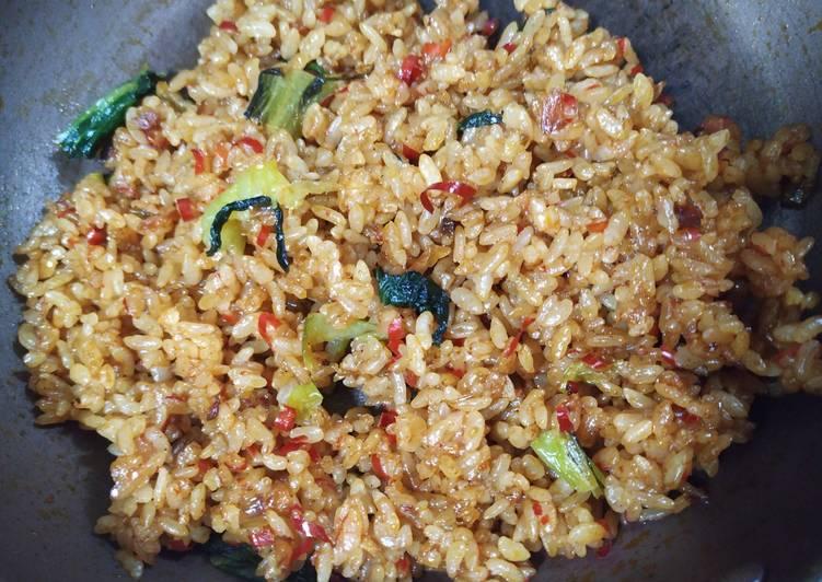Resep: Nasi goreng cabe kering