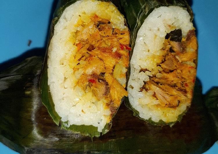 Resep: Nasi bakar ikan tongkol kemangi ala resto
