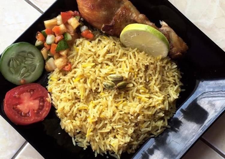 Nasi Mandi Rice Cooker