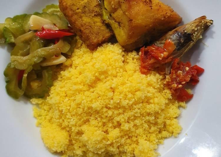 Nasi Jagung Polenta