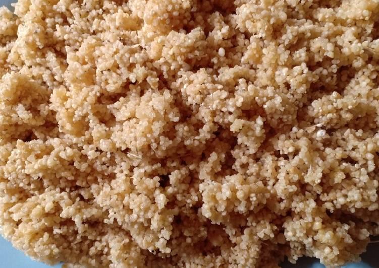 Resep: Nasi Tiwul yang menggugah selera