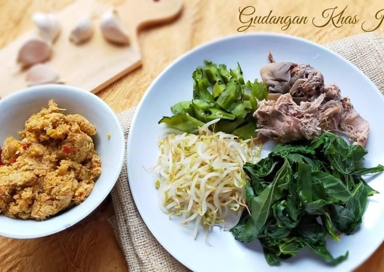 Cara memasak Gudangan Khas Jawa yang menggugah selera
