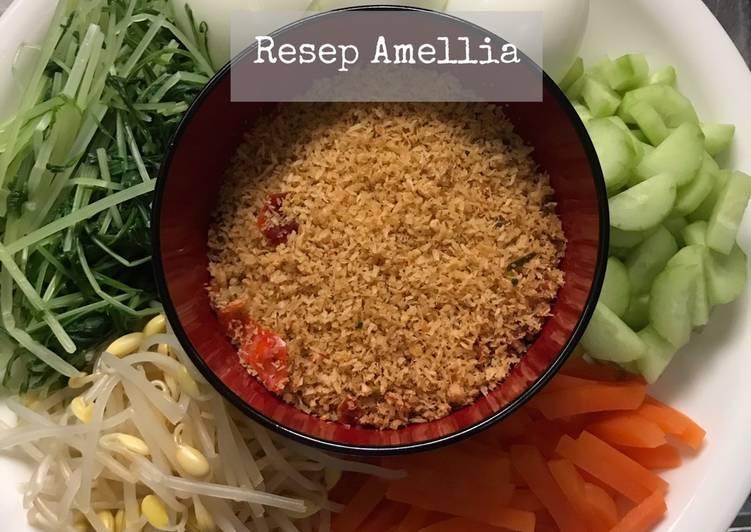 Resep: Urap sayuran (gudangan) lezat