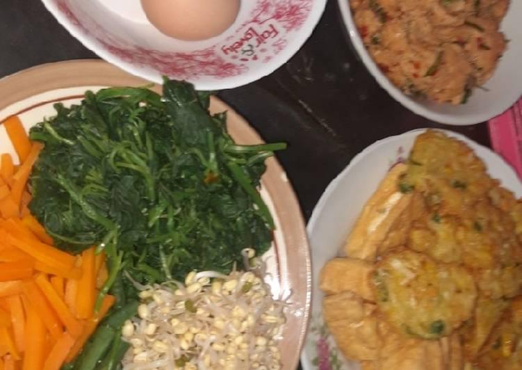 Resep memasak Gudangan (urap) yang menggugah selera
