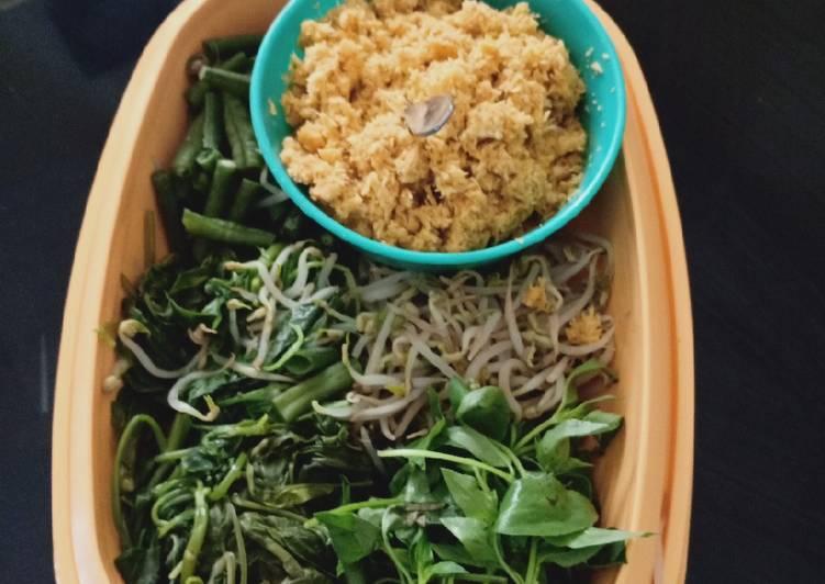Resep: Urap sayur aka gudangan yang bikin ketagihan