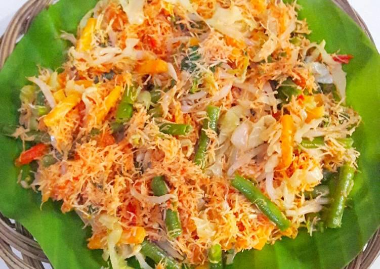 Resep: Gudangan/ urap sayur yang menggugah selera